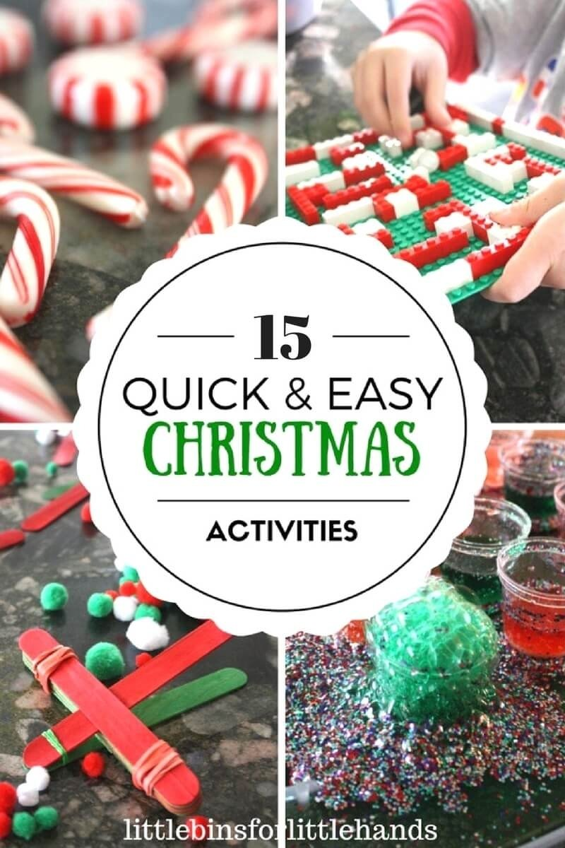 10 Gorgeous Christmas Eve Ideas For Kids easy christmas activities for kids christmas stem 2021