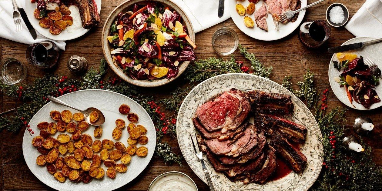10 Unique Prime Rib Dinner Menu Ideas easy christmas dinner menu with beef rib roast epicurious 1 2020