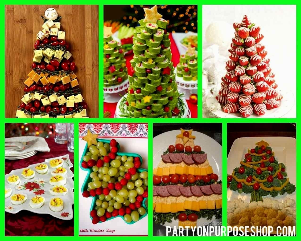 easy christmas party food ideas - decorating of party
