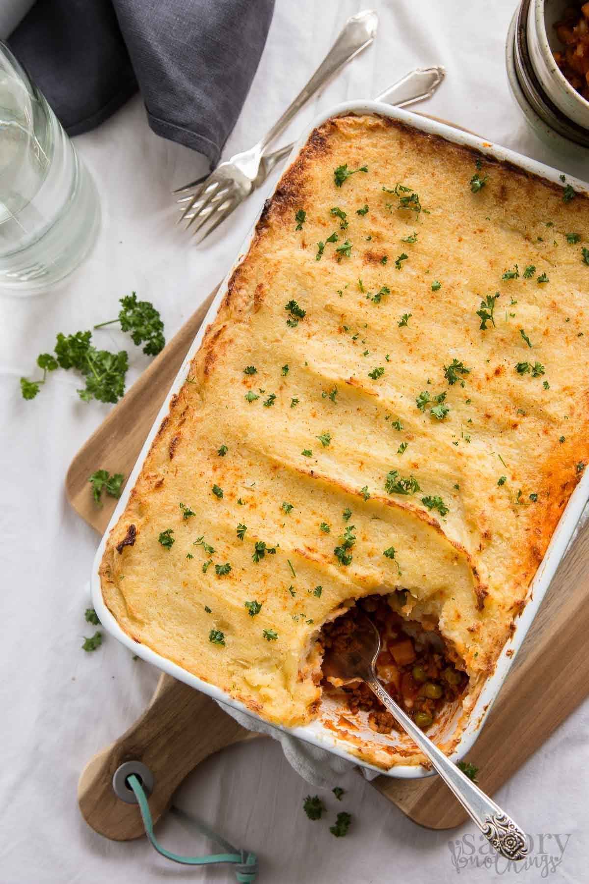 10 Most Recommended Simple Dinner Ideas For 2 easy cottage pie filled with healthy vegetables savory nothings 2021