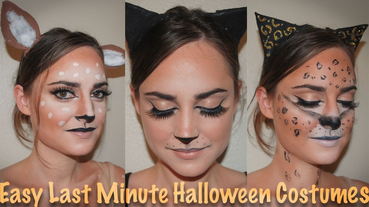 10 Unique Cute Last Minute Costume Ideas easy cute last minute halloween costume ideas delia ahmed youtube 2020