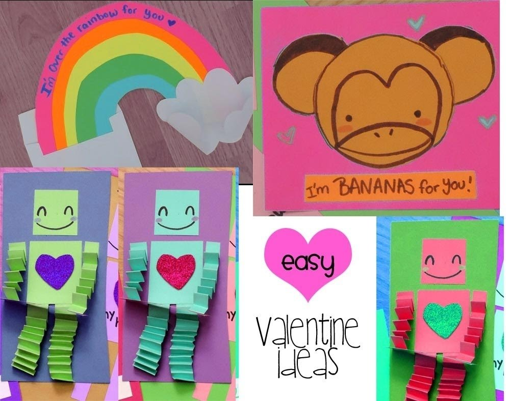10 Attractive Valentine Card Ideas For Kids easy cute valentine card ideas 1 of 2 youtube 2020