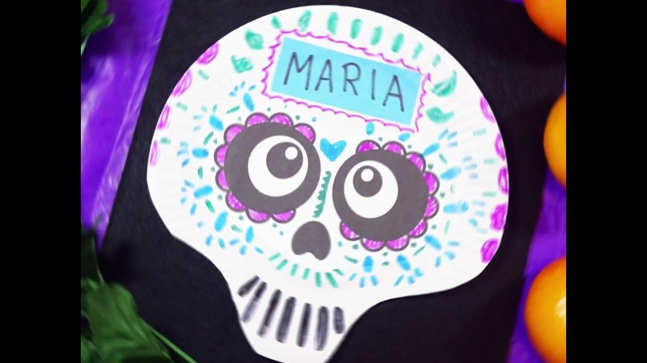 10 Famous Day Of The Dead Craft Ideas easy day of the dead craft paper plate skullsbox of ideas