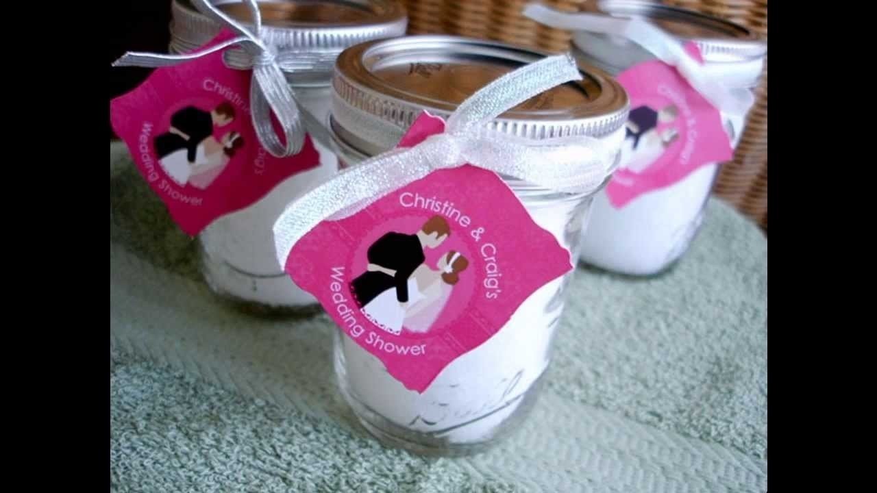 10 Fabulous Bridal Shower Party Favors Ideas easy diy bridal shower party favor ideas youtube