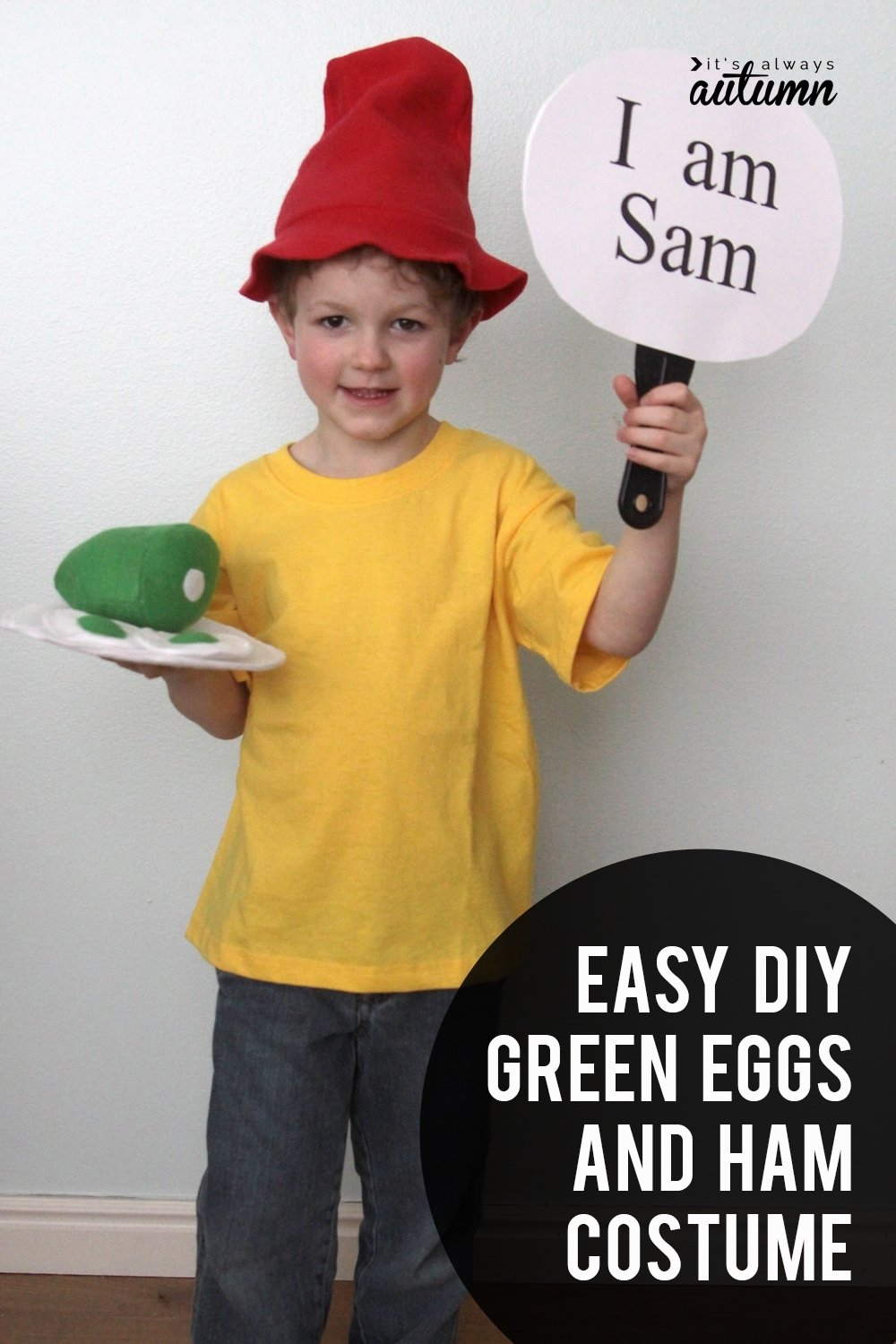 10 Stylish Dr Seuss Costume Ideas Homemade easy diy green eggs and ham costumes for dr suess day its always 5 2020