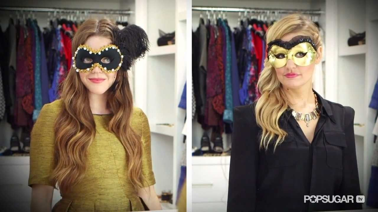 easy diy halloween costume fit for the masquerade! - youtube