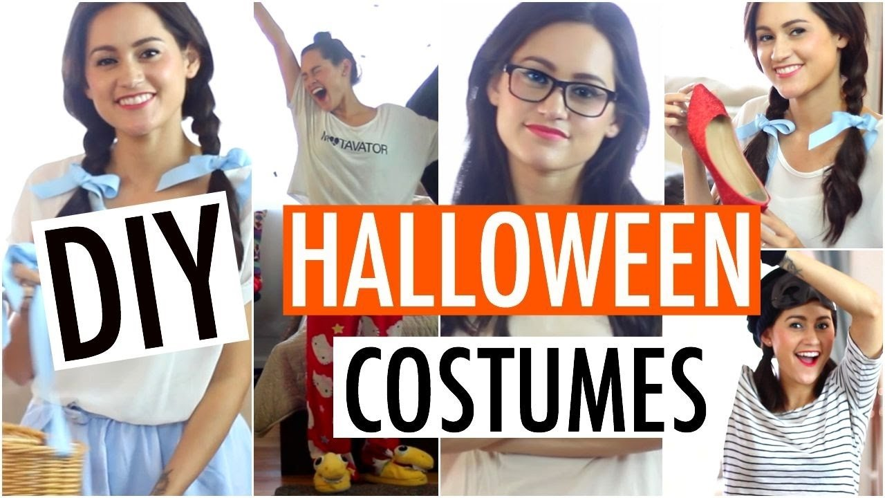 10 Pretty Cheap Easy Halloween Costume Ideas easy diy halloween costume ideas fast affordable outfits 2015 2 2020