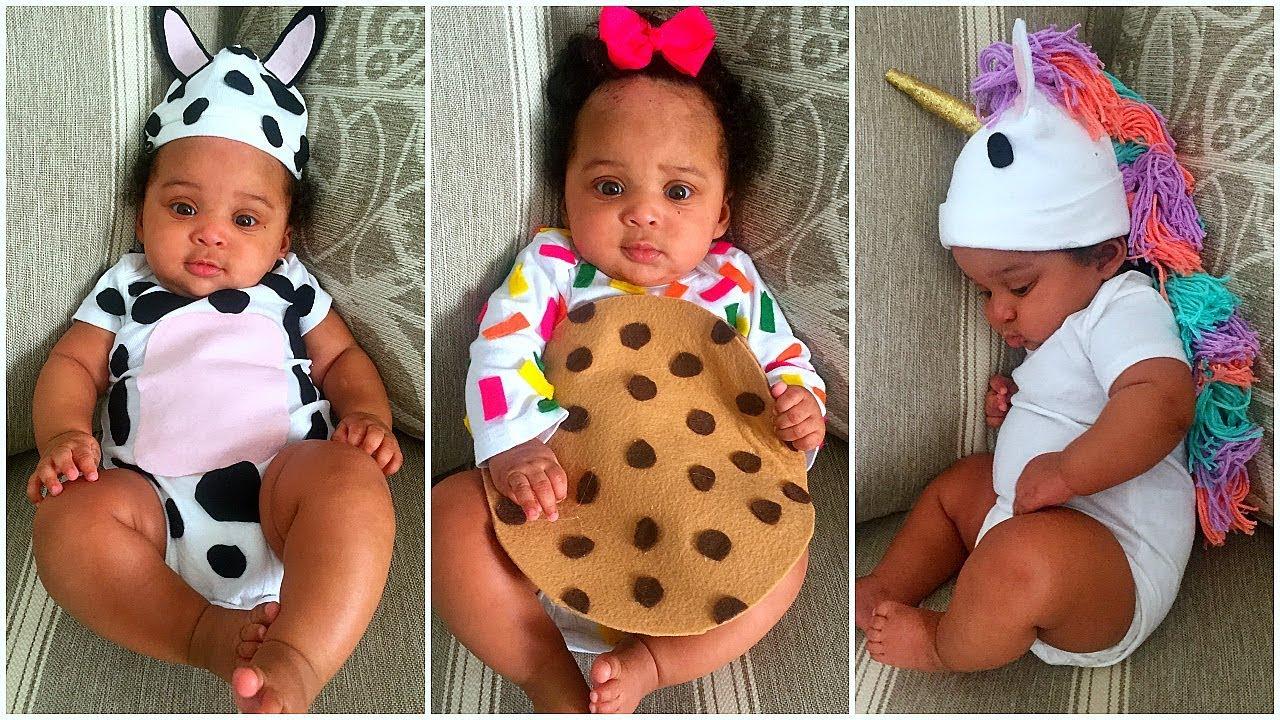 10 Wonderful Baby Costume Ideas For Girls easy diy halloween costume ideas for babies kids unicorn ice 2021