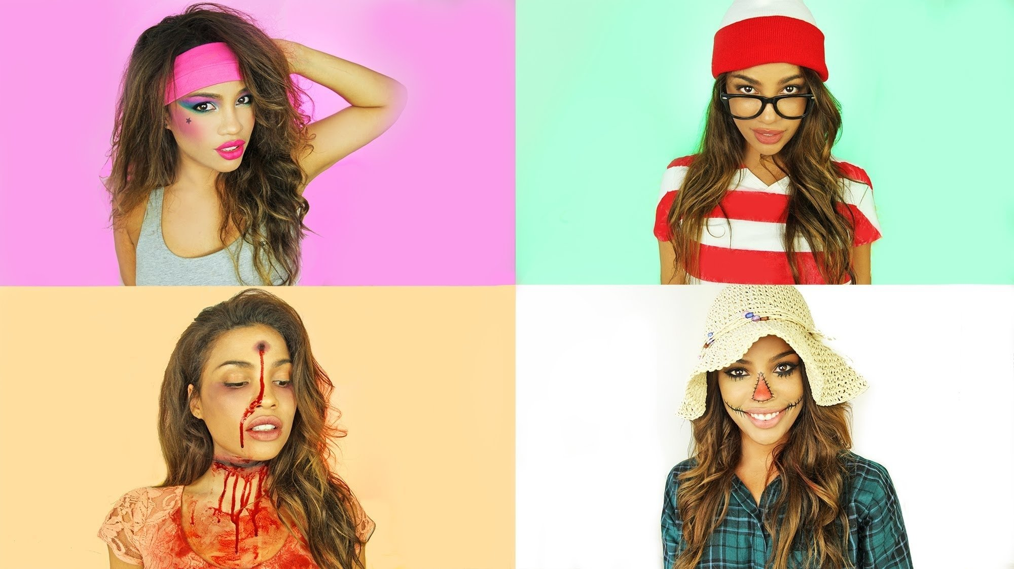 easy diy halloween costumes ideas! | andreaschoice - youtube