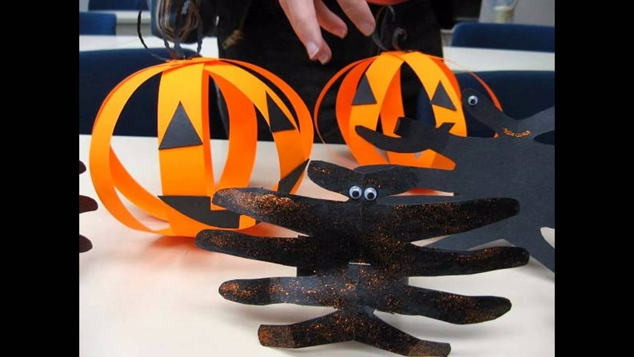 10 Elegant Halloween Craft Ideas For Preschoolers easy diy halloween craft ideas for toddlers youtube 2021