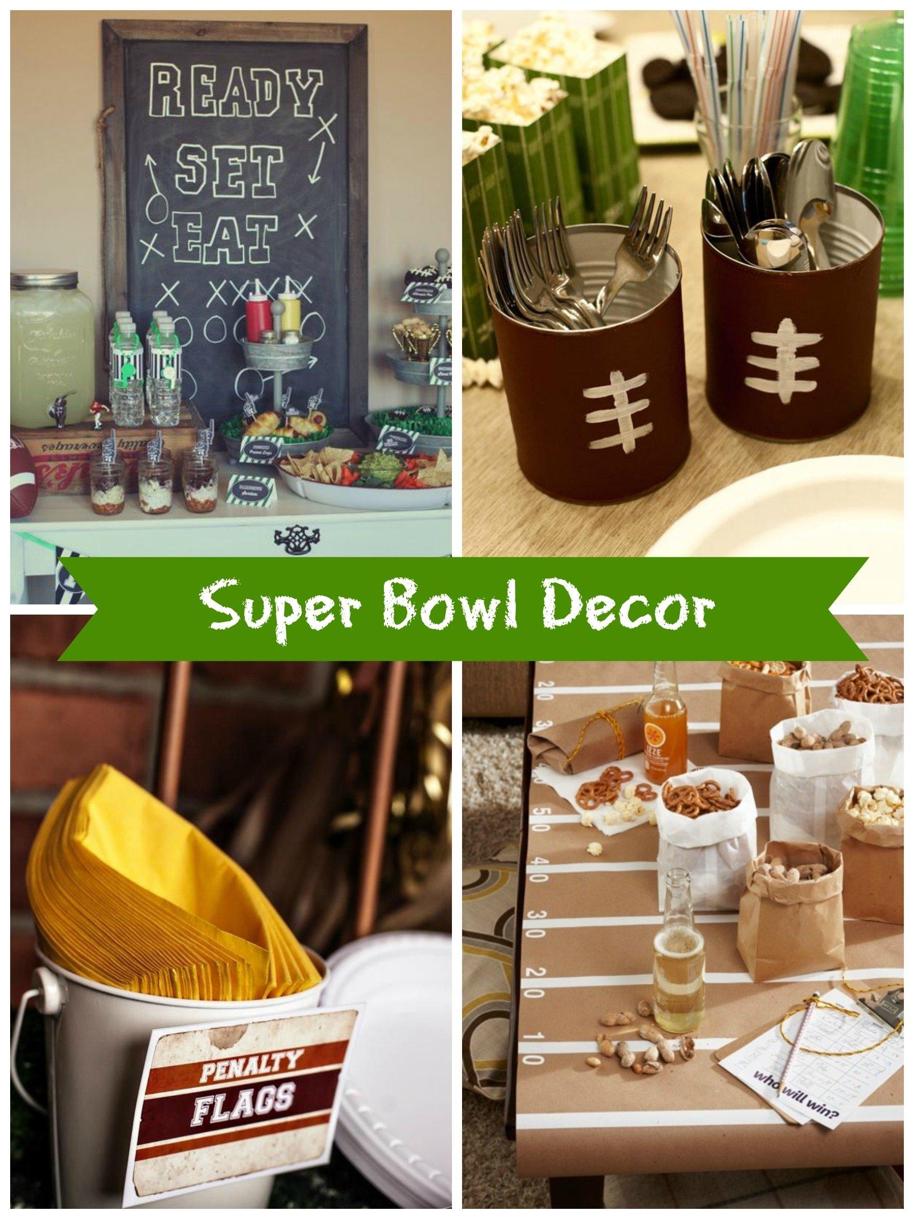 easy diy super bowl party ideas! - creative juice
