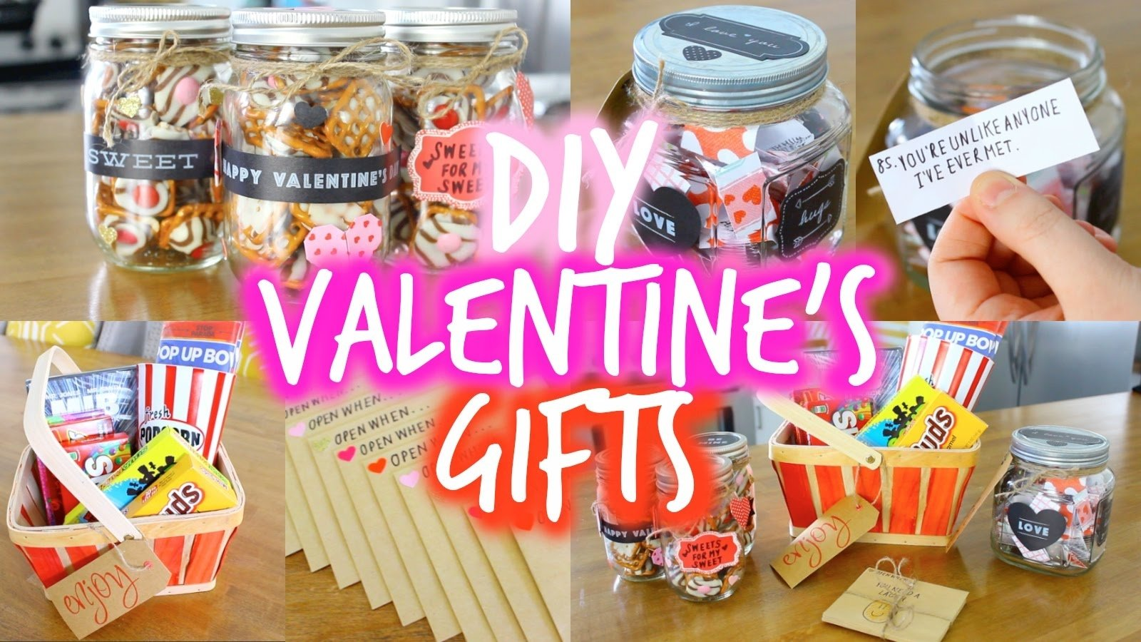 easy diy valentine's day gift ideas for your boyfriend! - youtube