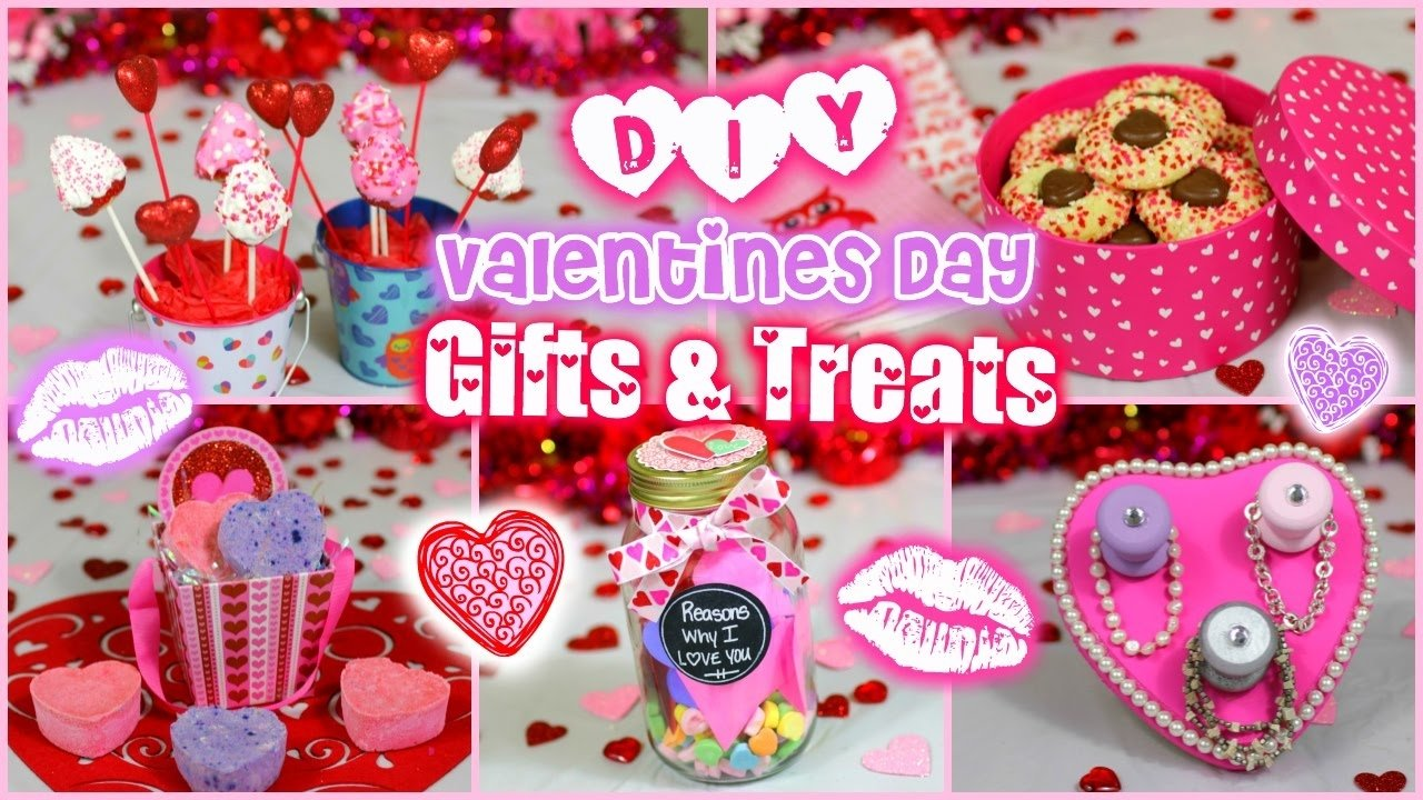 10 Nice Valentine Day Gift Ideas For Girlfriend easy diy valentines day gift treat ideas for guys and girls