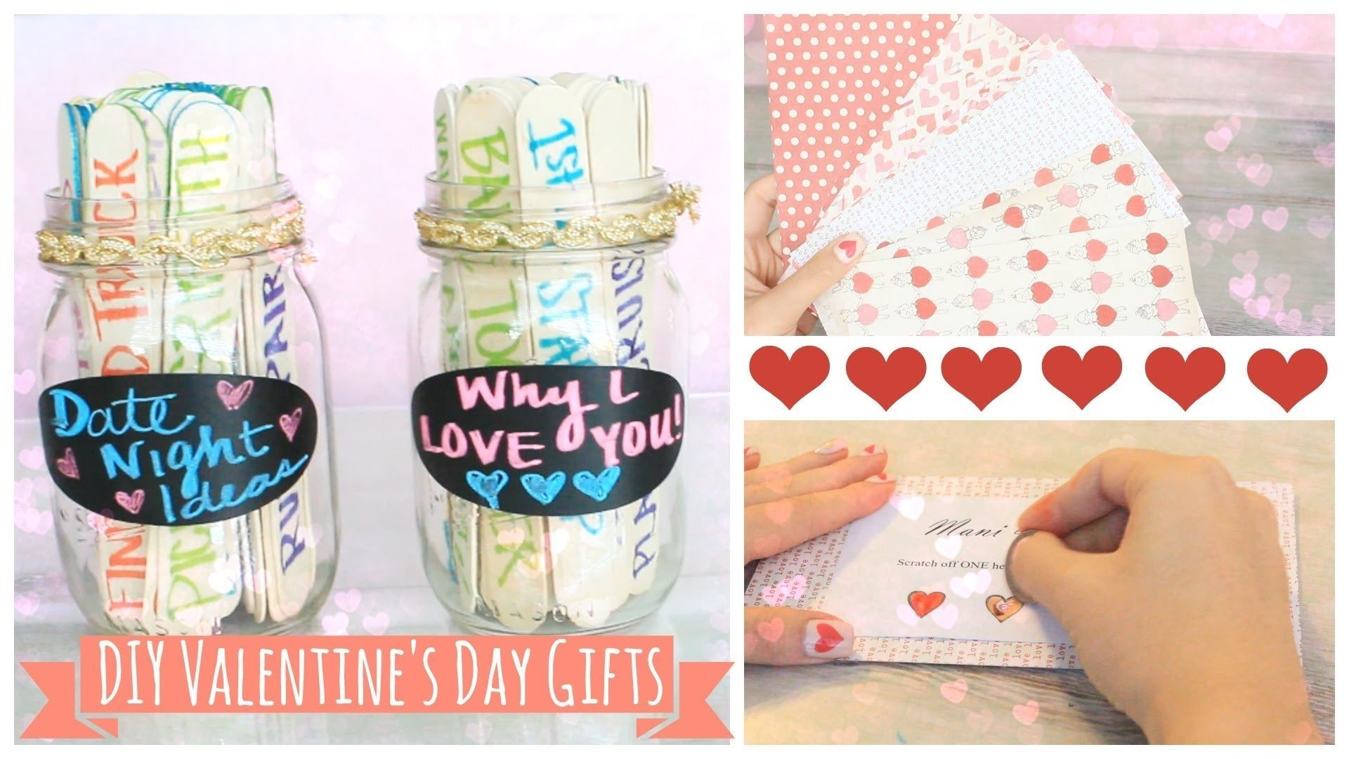 10 Great Valentines Gift Ideas For Mom easy diy valentines day gifts misstiffanyma youtube 2021