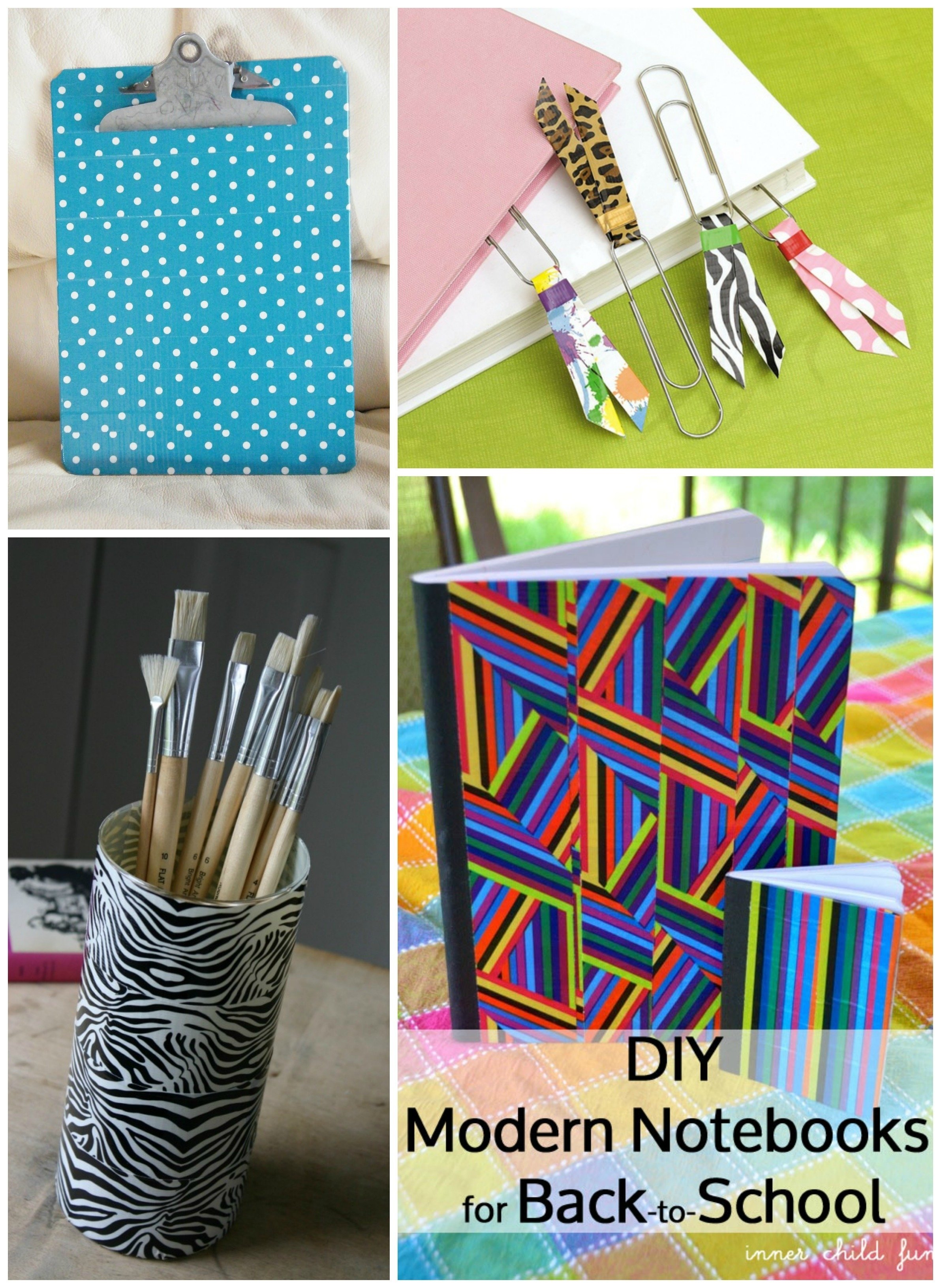 easy duct tape crafts for school | craft get ideas