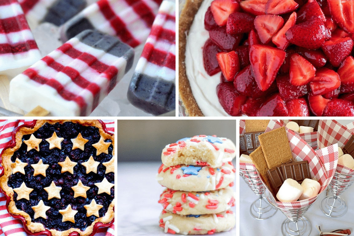10 Stunning Fourth Of July Dessert Ideas easy elegant 4th of july desserts tinselbox 2020