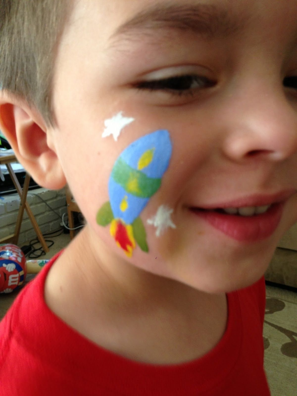 10 Attractive Face Painting Ideas For Boys easy face painting ideas for beginners are the simple face 1