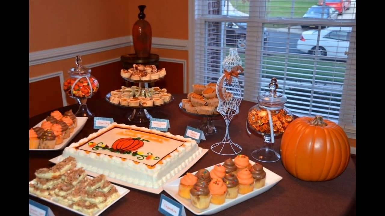 easy fall baby shower decorating ideas - youtube