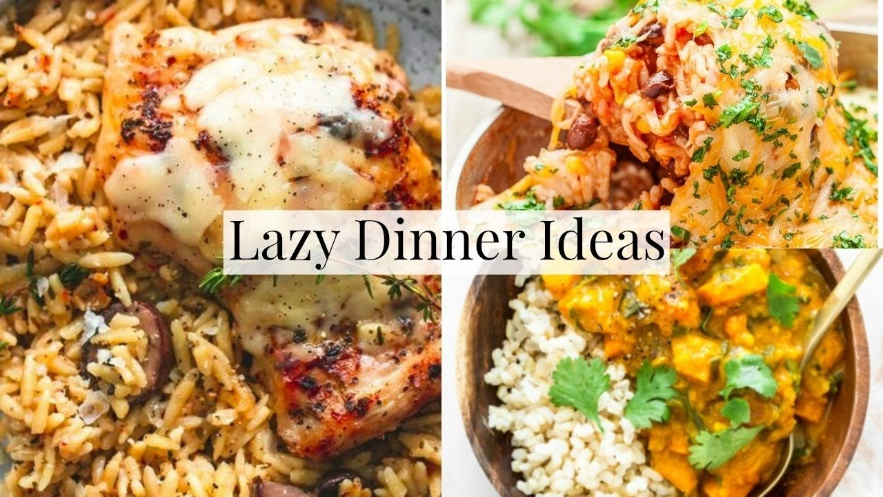 10 Unique Weeknight Dinner Ideas For Families easy family dinner ideas for lazy days youtube 1 2021