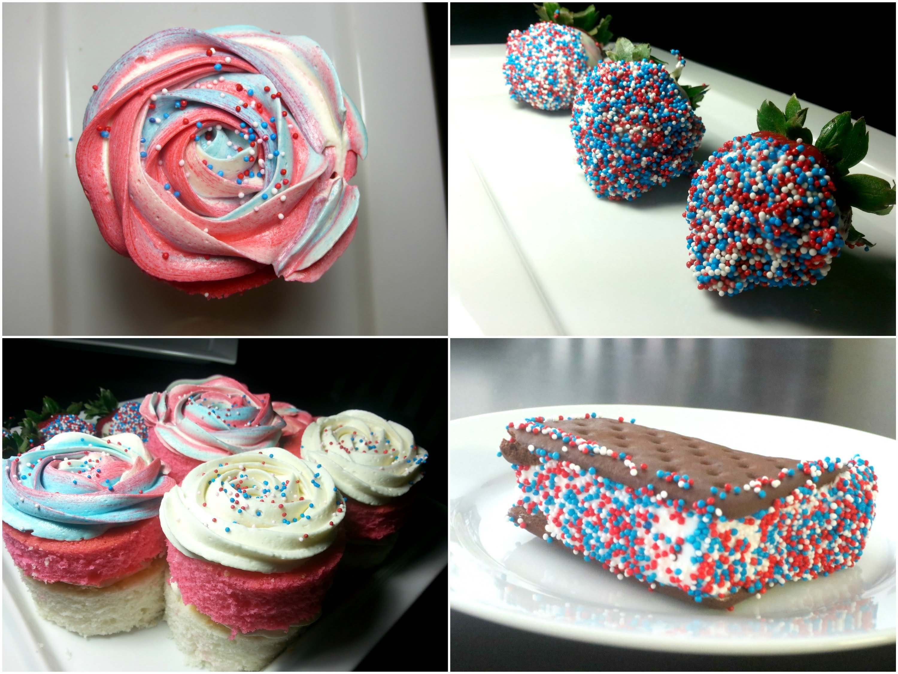 easy fourth of july dessert ideas - youtube