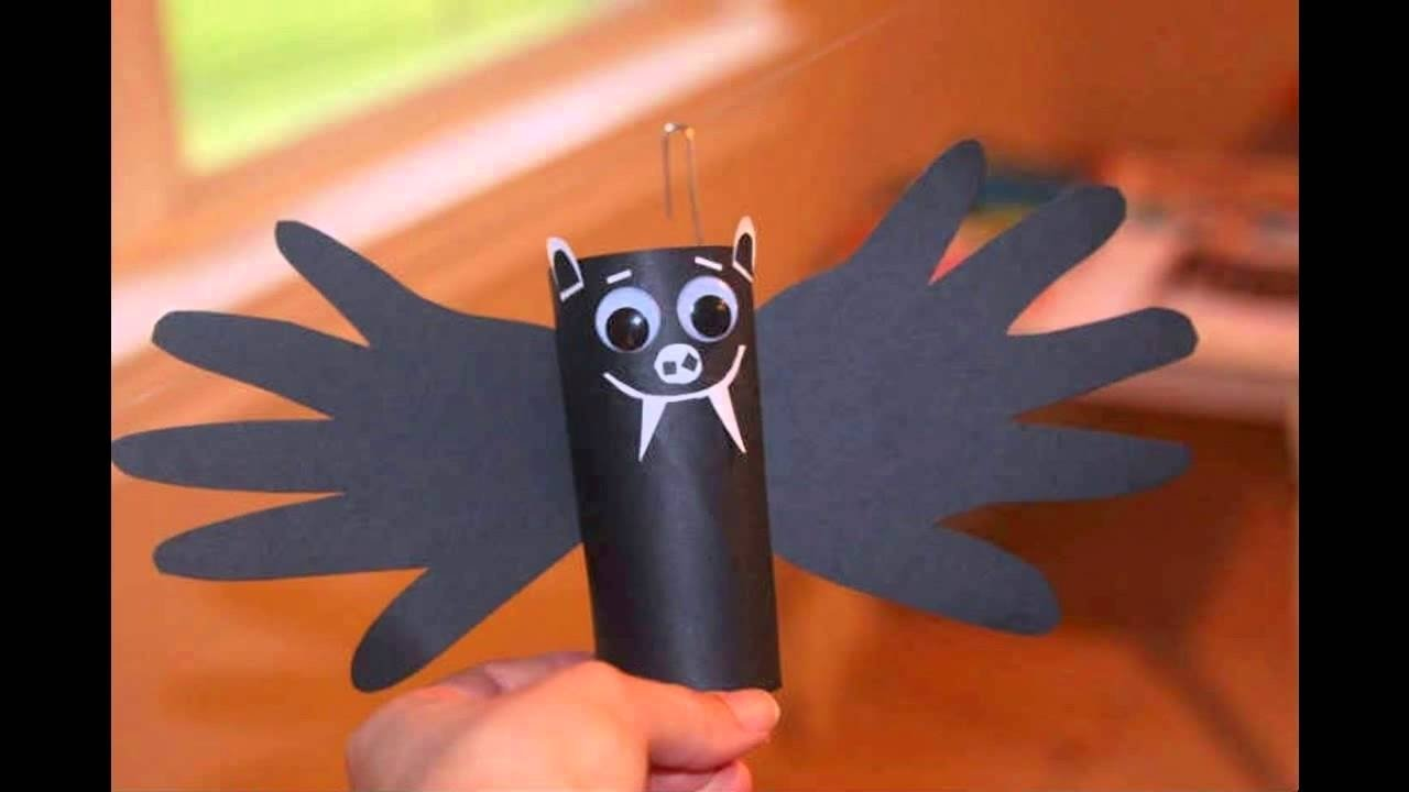 easy halloween crafts ideas for kids - youtube