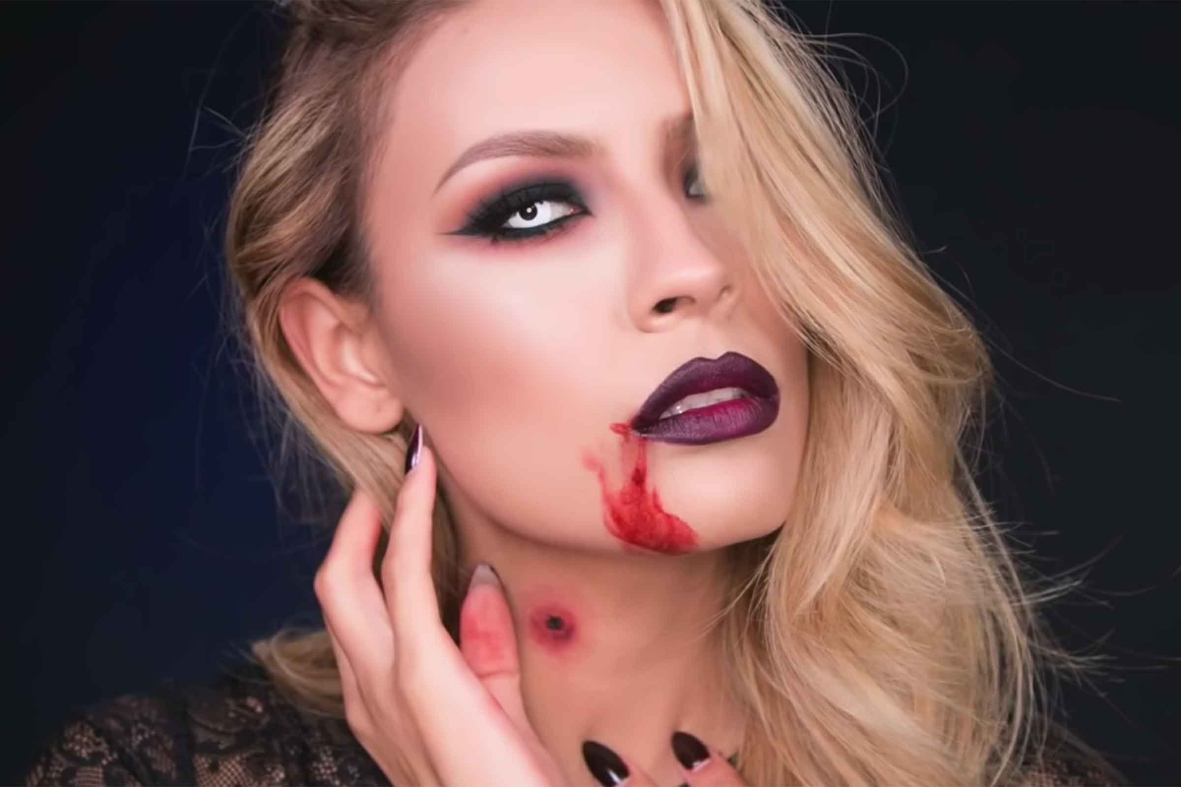 10 Cute Vampire Makeup Ideas For Kids easy halloween makeup ideas readers digest 1 2020