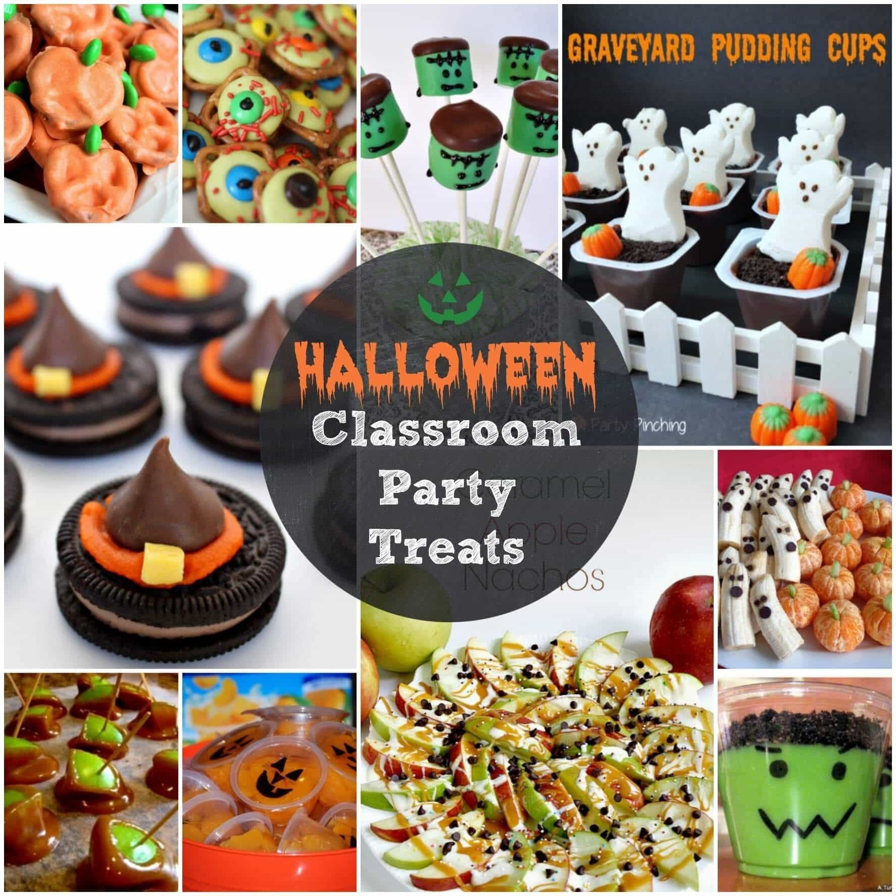 10 Beautiful Halloween Treat Ideas For Kids Party easy halloween treats for your classroom parties or just for fun 1 2020