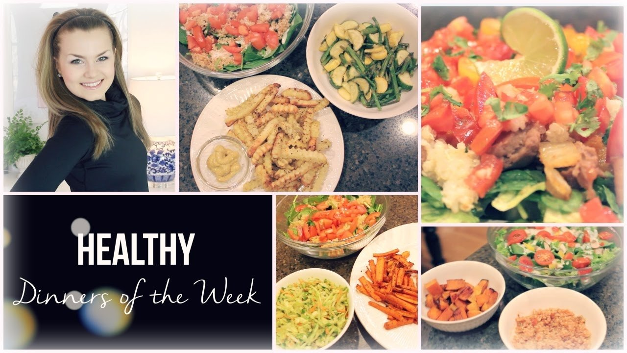10 Stylish Dinner Ideas For The Week easy healthy dinner ideas dinners of the week vegan gluten 1 2020