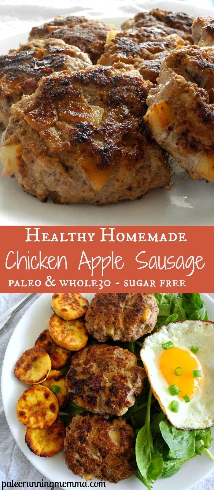 10 Stylish Chicken Apple Sausage Recipe Ideas easy homemade chicken apple sausage paleo whole30