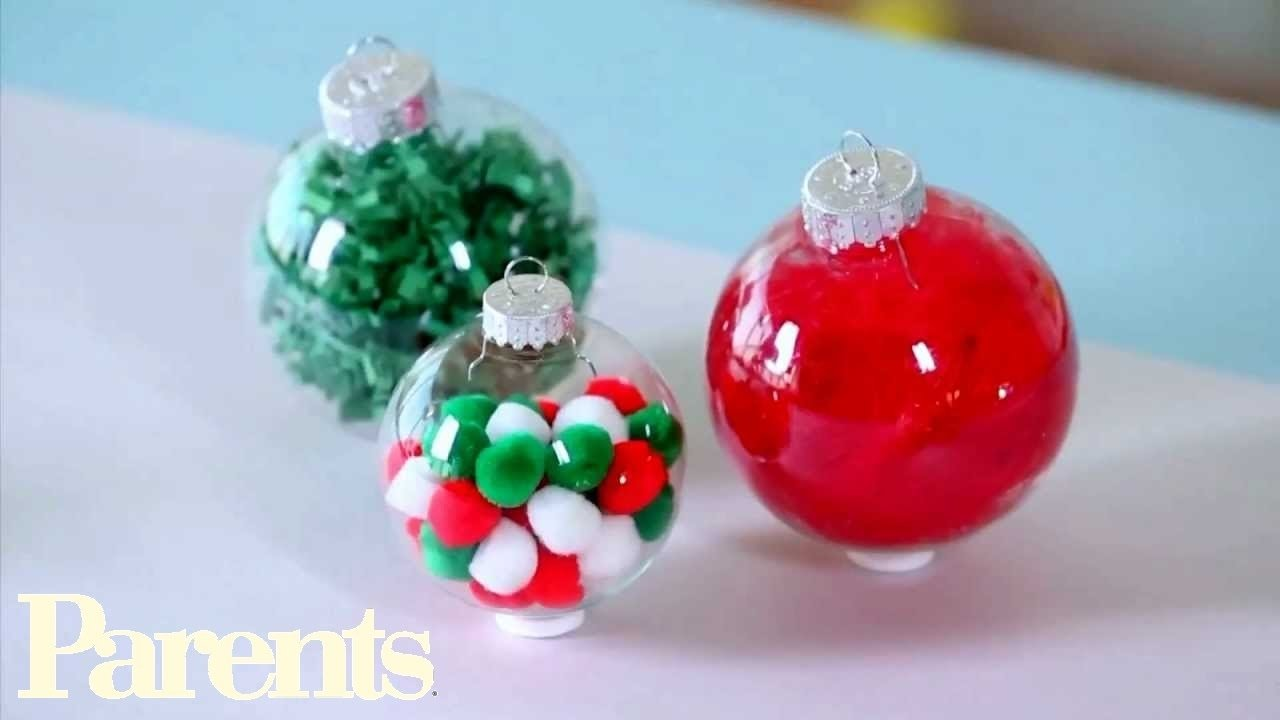 10 Cute Christmas Decorations Ideas To Make easy homemade christmas ornament ideas parents youtube 2 2021