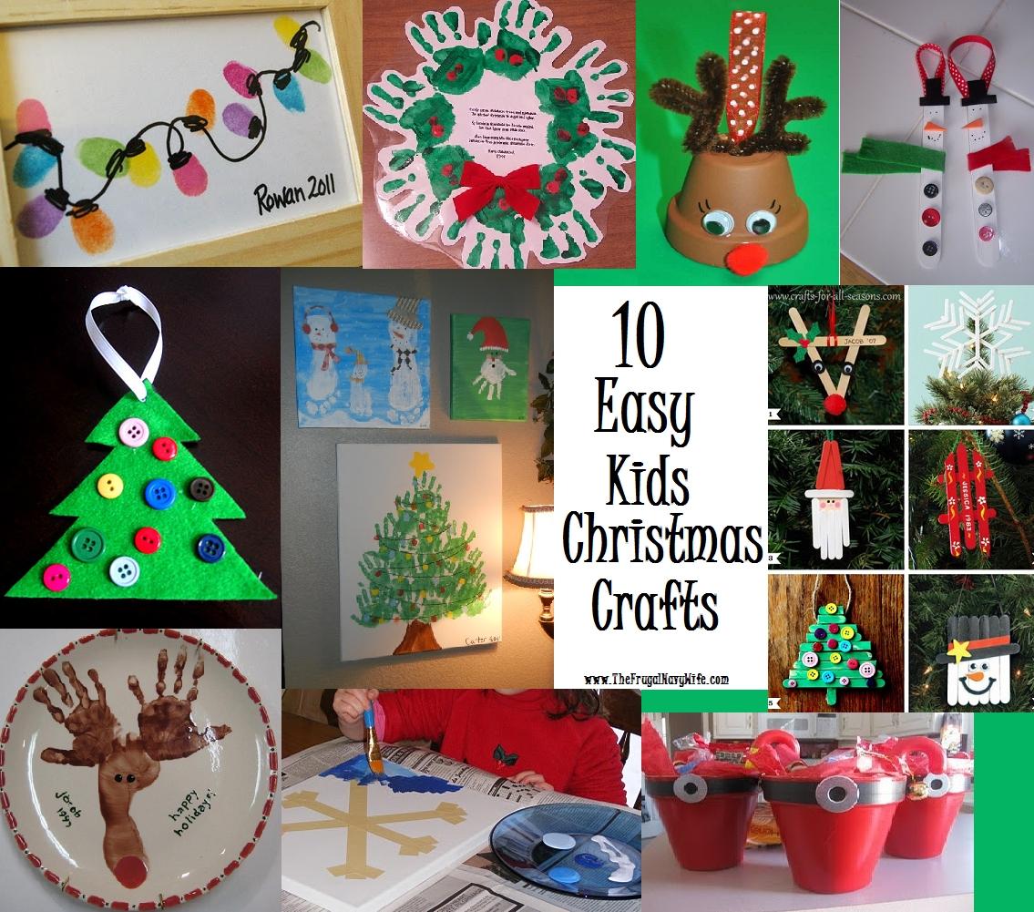10 Amazing Holiday Craft Ideas For Kids easy kids christmas craft ye craft ideas 1 2020
