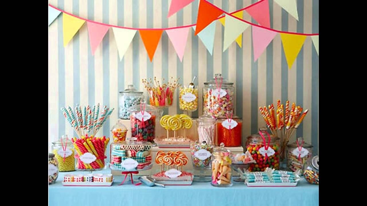 easy kids party food ideas buffet - youtube