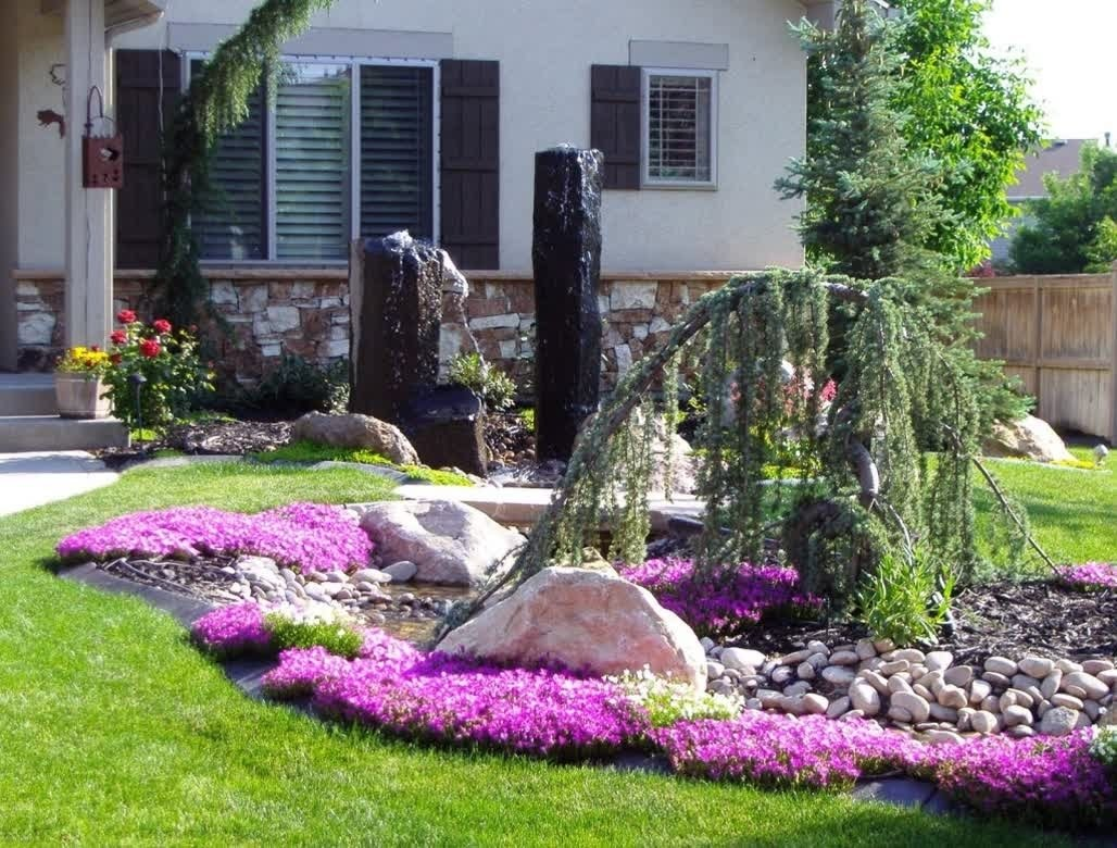 easy landscape ideas collection and landscaping for beginners images