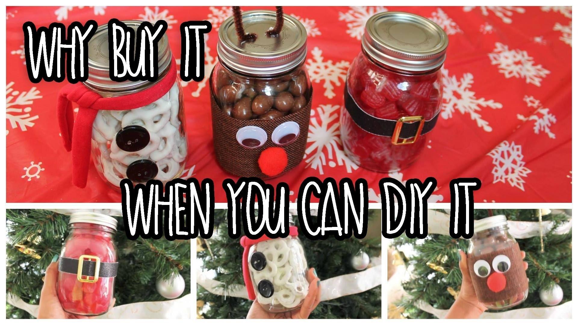10 Cute Last Minute Homemade Christmas Gift Ideas easy last minute diy christmas gifts using mason jars youtube 2020
