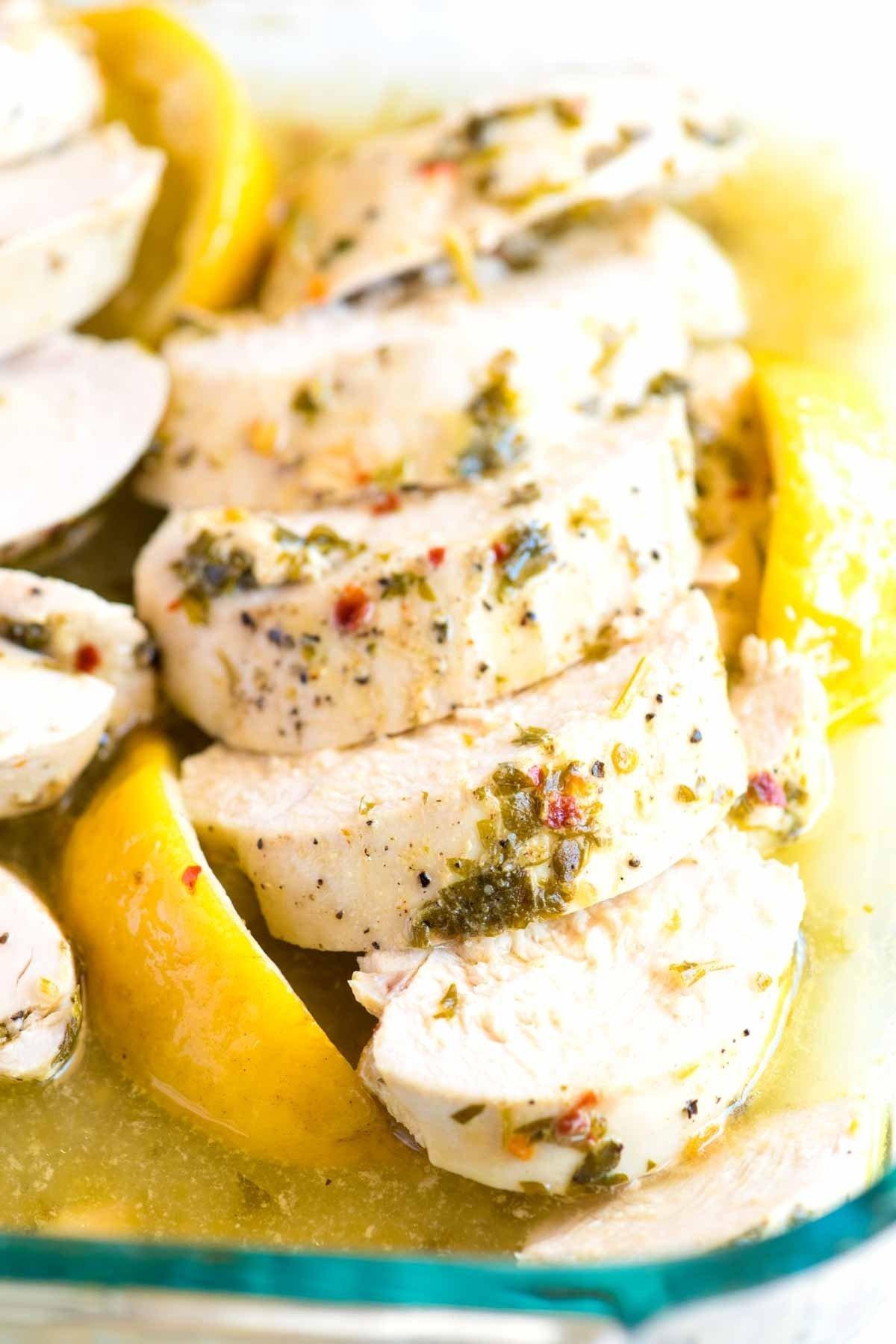 10 Gorgeous Dinner Ideas With Chicken Breast easy lemon garlic baked chicken breast recipe 2021