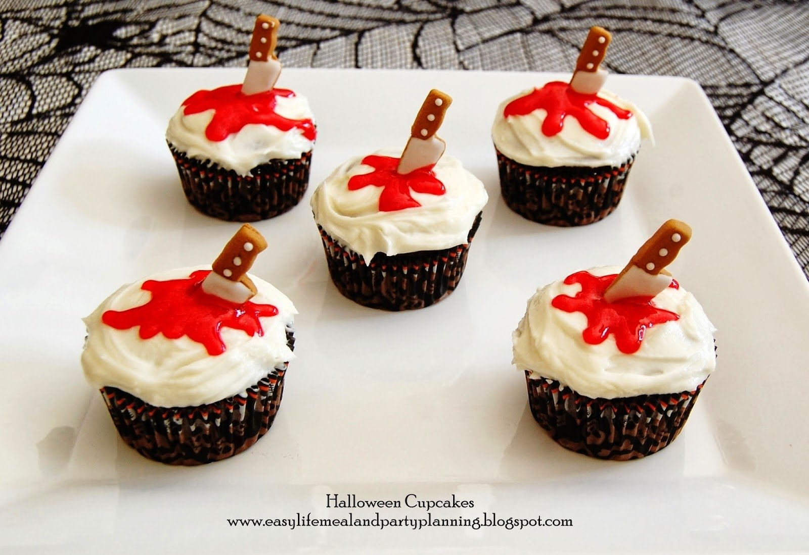 10 Beautiful Easy Halloween Cake Decorating Ideas easy life meal and party planning halloween cupcake toppers 2020