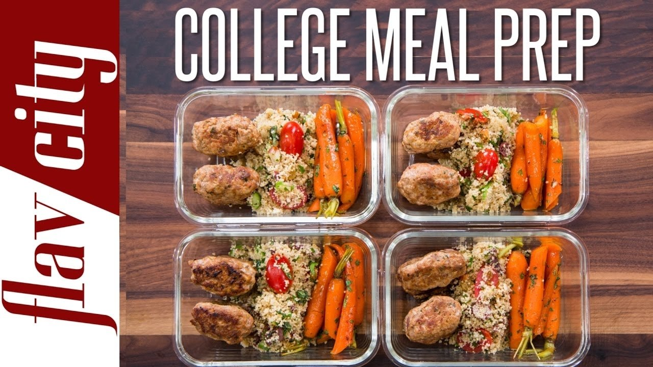 10 Lovable Meal Ideas For College Students easy meal prep for college students healthy meal prep for the week 1 2020