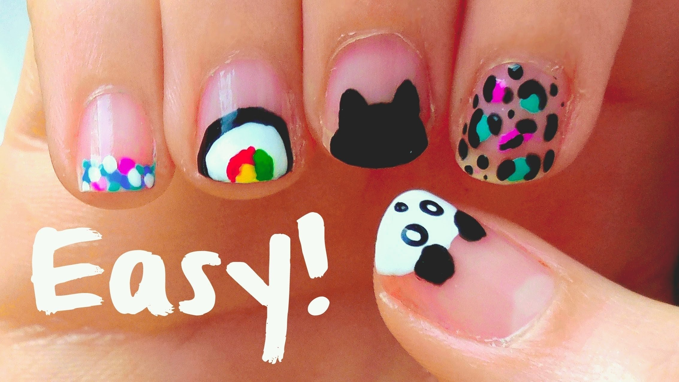 10 Attractive Easy Nail Ideas For Short Nails easy nail art designs for short nails for beginners diy tools 2021