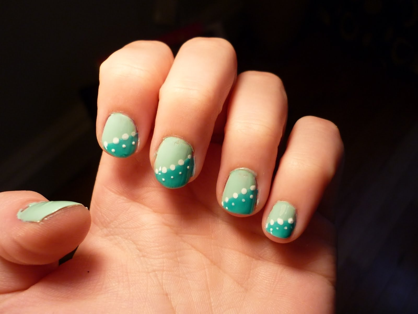 easy nail designs - cute nail arts