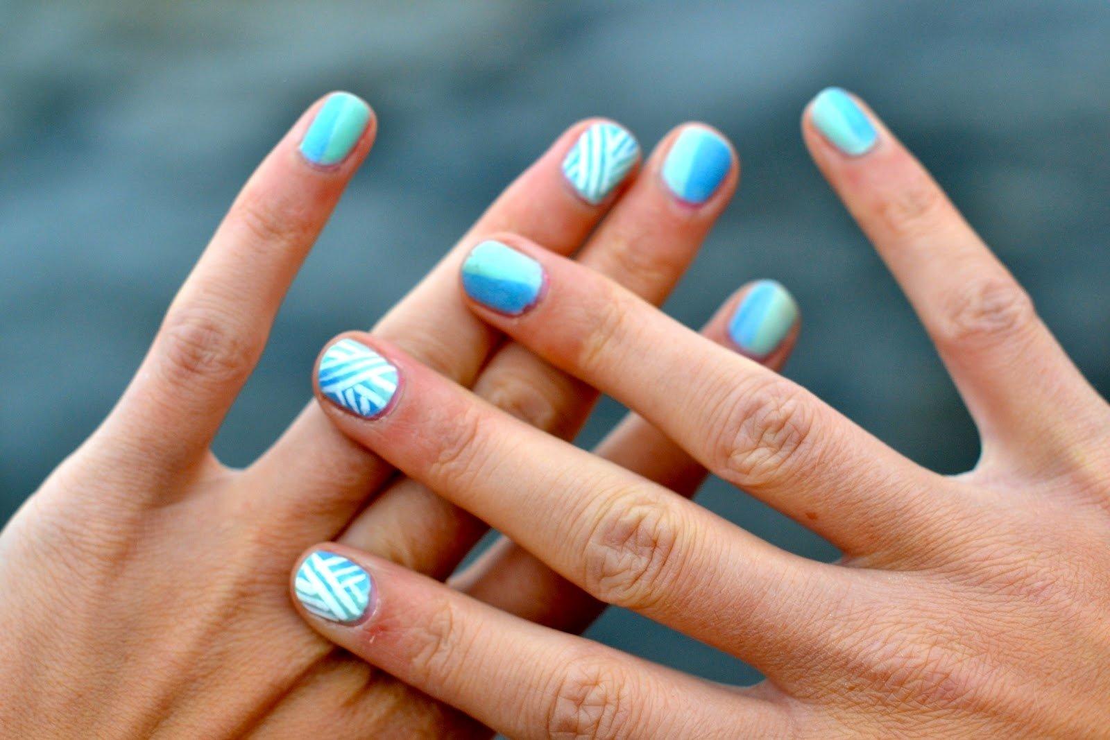 10 Elegant Nail Ideas For Short Nails 2019