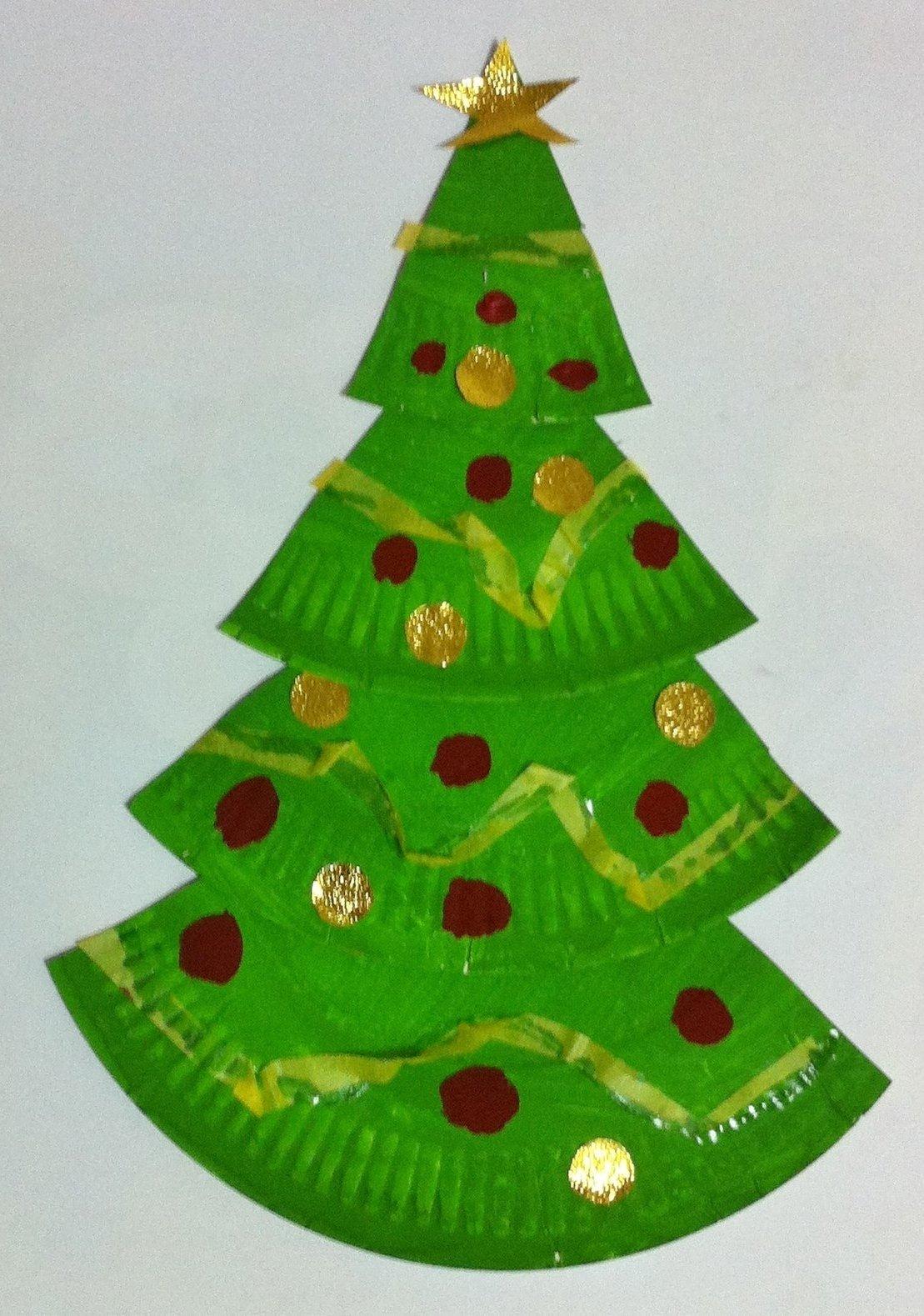 10 Stylish Christmas Craft Ideas For Kids To Make easy paper christmas crafts kids find craft ideas 2 2021