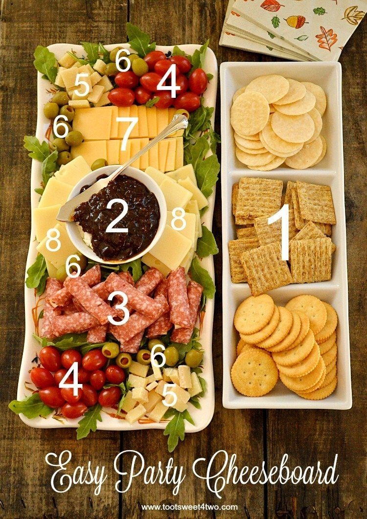 10 Fantastic Cheese And Cracker Tray Ideas easy party cheeseboard toot sweet 4 two 1