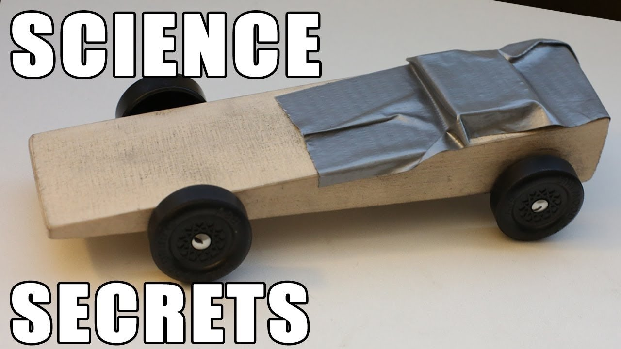 easy pinewood derby car wins using science!!! - youtube