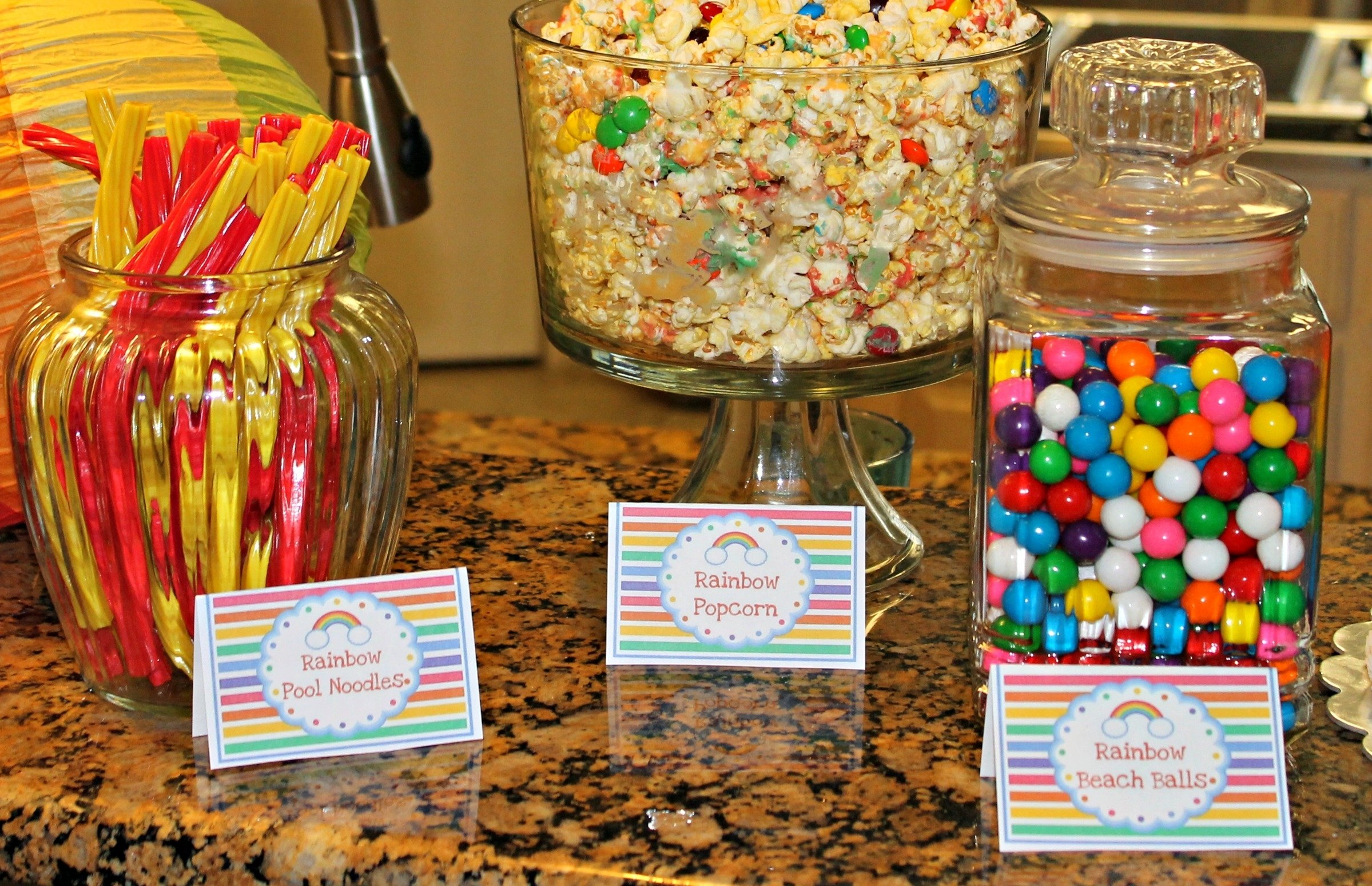 10 Stylish Pool Party Food Ideas For Kids easy pool party food ideas rainbow 1 dylan s printable templates 2020