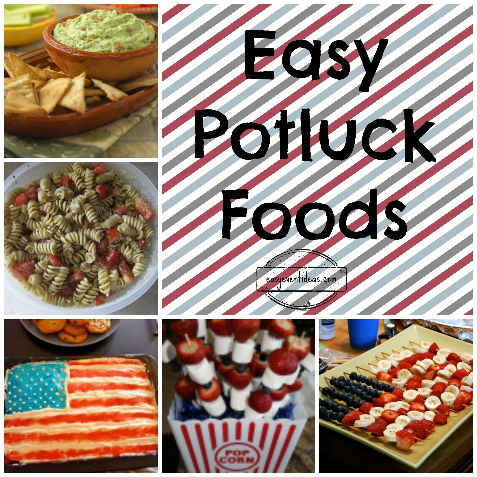 easy potluck food – easy event ideas
