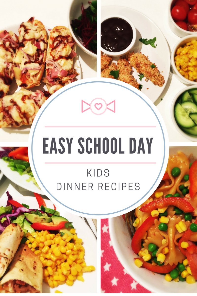 10 Nice Dinner Ideas For Family Of 4 easy school day dinner ideas daisies pie 2020