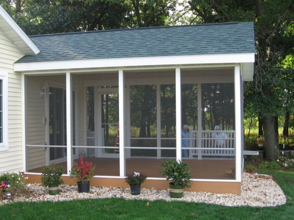 easy screened in porch ideas and photos — porch designs | screened