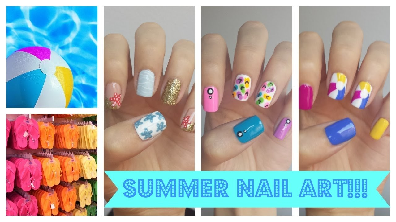 10 Stylish Easy Nail Ideas For Summer easy summer nail designs graham reid 2020