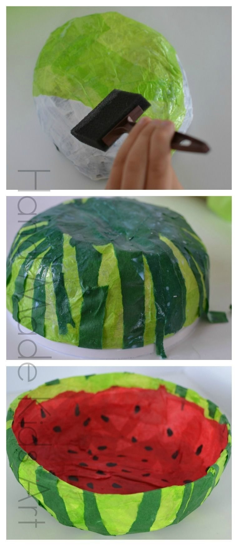10 Lovable Paper Mache Ideas For Kids easy sweet paper bowl craft paper mache bowls paper mache and bowls 2021