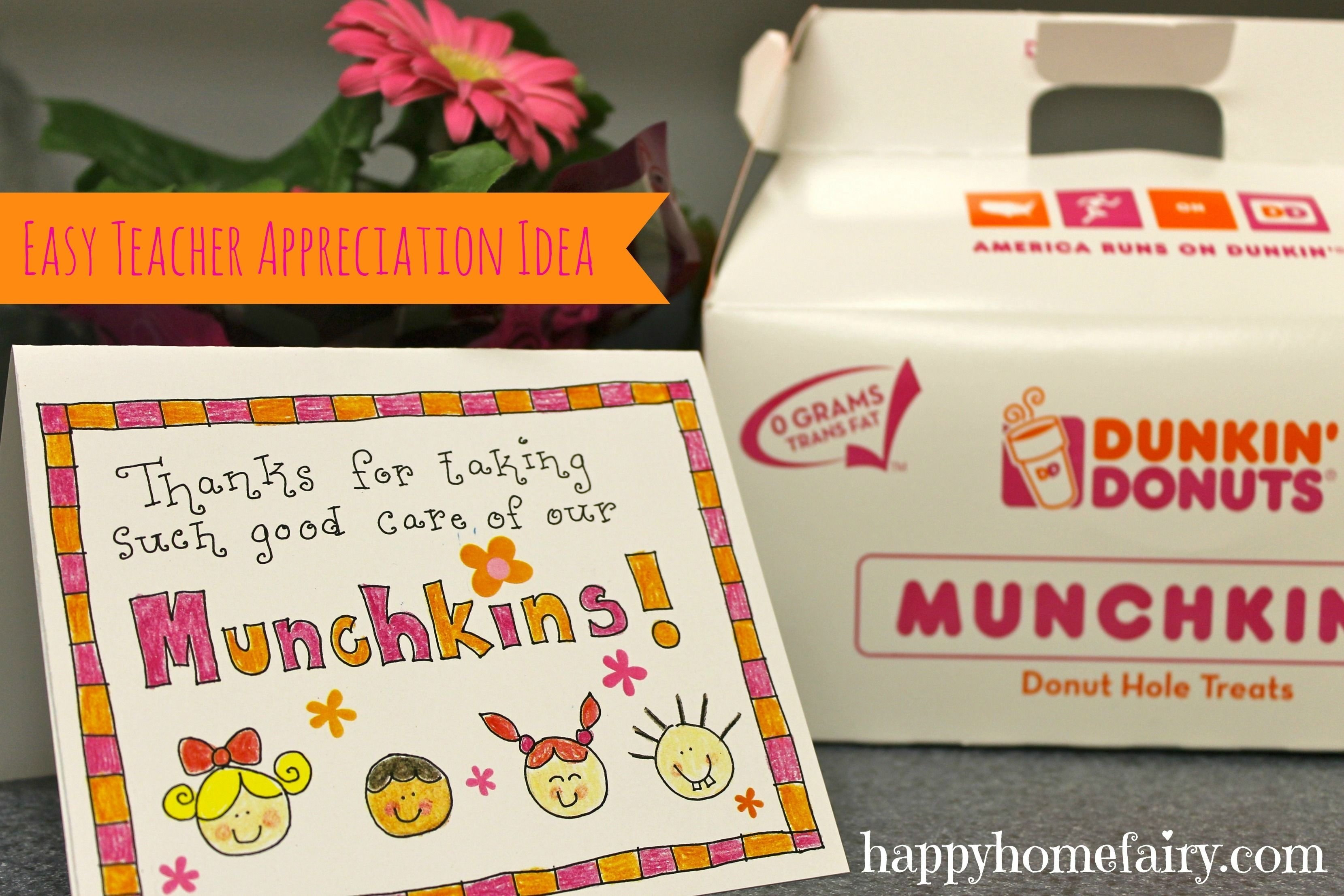 10 Pretty Daycare Teacher Appreciation Gift Ideas easy teacher appreciation idea free printable appreciation 2020